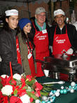 Booboo Stewart, Fivel Stewart, Harrison Ford, Mayor Antonio Villaraigosa, Los Angeles Mission
