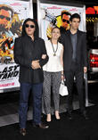 Gene Simmons, Sophie Simmons, Nick Simmons and Grauman's Chinese Theatre