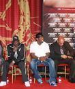50 Cent attends the Ring Kings press conference...