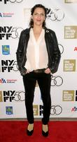 Antonia Zegers attend the 50th Annual New York...