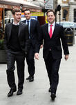 Deputy Prime Minister Nick, Clegg and Nick Ferrari. The Liberal