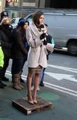 Olivia Culpo and Times Square