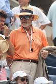 sean connery celebrities at the 2012 us open in flu