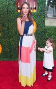 Alessandra Abrosio and her daughter Anja  Third...