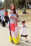 Alessandra Ambrosio with son Noah and Daughter Anja...