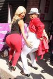 Coco Austin and Iyanla Vanzant leaving the Wendy...