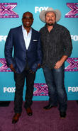 L, A. Reid, Tate Stevens and X Factor