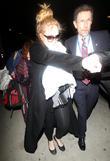 Adele; Adele Atkins Adele arrives into Los Angeles...