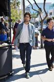 Adrian Grenier out and about in Beverly Hills...