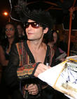 celebrities attend aerosmith s concert after party
