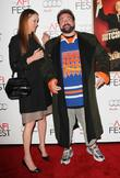 Kevin Smith, Jennifer Schwalbach Smith and Grauman's Chinese Theatre