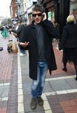 Aidan Gillen out and about on Grafton St...