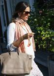 Alessandra Ambrosio  shopping in Brentwood Los Angeles,...