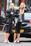 Alex Curran aka Alex Gerrard and a friend...