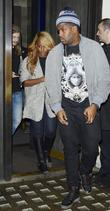 Alexandra Burke  Leaving Hakkasan restaurant with friends....