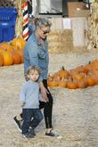 Actress Ali Larter  seen with her son...