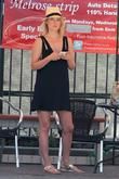 Actress Ali Larter  seen waiting for her...