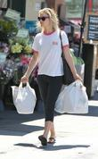 Ali Larter leaving Whole Foods supermarket after shopping...