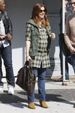 Alyson Hannigan out and about in Los Angeles...