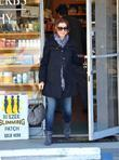 Alyson Hannigan running errands in L.A. Los Angeles,...