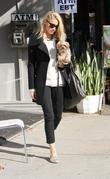 Amber Heard leaves a nail salon in Hollywood...