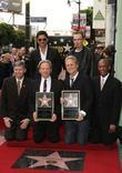 John Stamos, Billy Bob Thornton and Star On The Hollywood Walk Of Fame