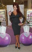 Amy Childs  at a perfume signing for...
