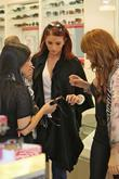 Amy Childs seen shopping at Carmillo Outlet Mall...