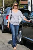 Amy Smart  exits Byron salon in Beverly...