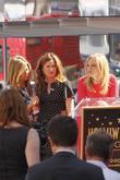 Jennifer Aniston, Kathryn Hahn, Malin Akerman and Star On The Hollywood Walk Of Fame