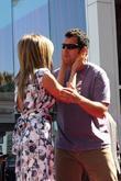 Jennifer Aniston, Adam Sandler and Star On The Hollywood Walk Of Fame