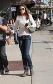 Anna Friel leaves Kings Road Cafe in Hollywood...