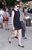 Anne Hathaway attends the New York Premiere of...