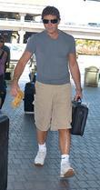 Antonio Banderas  arrives at LAX Airport...