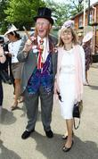 John McCririck and Guest Royal Ascot at Ascot...