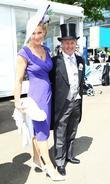 Jonjo O'Neill and Guest Royal Ascot at Ascot...