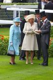 Queen Elizabeth II and The Duchess Of Cornwall