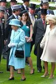 Queen Elizabeth II, Prince Philip and The Duchess Of Cornwall
