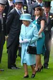 Queen Elizabeth II, Princess Eugene Royal Ascot at...
