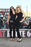 Ashlee Ricci and Kate Racz Bike Night at...