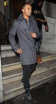 Aston Merrygold celebrates his 24th birthday at Aura...