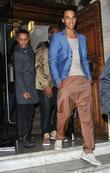 Aston Merrygold, Marvin Humes and Oritse Williams of...