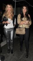 Lauren Pope, Lauren Goodger and Aura Nightclub