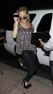 Kendra Wilkinson outside Beso restaurant Los Angeles, California