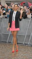 Alesha Dixon 'Britain's Got Talent' auditions in Blackpool...
