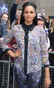 Alesha Dixon arrives for the 'Britain's Got Talent'...