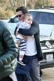 Orlando Bloom and his son Flynn Bloom go...