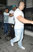 Lewis Hamilton leaves Boujis nightclub London, England