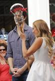 Brandon Routh, Lacrosse and Rachel Uchitel