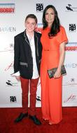 Famke Janssen and Spencer List New York Premiere...
